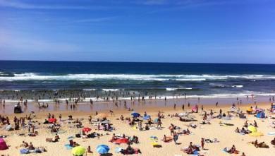 Surf report FR, Mimizan - Plage Garluche (40) du 2011-08-07 14:00:00