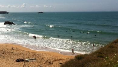Surf report FR, Quiberon - Port Blanc (56) du 2011-08-09 12:33:00