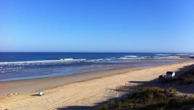 Surf report FR, Mimizan - Plage Garluche (40) du 2011-08-10 08:49:00