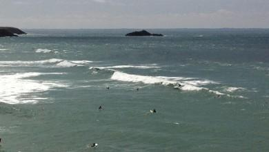 Surf report FR, Quiberon - Port Blanc (56) du 2011-08-11 13:41:00