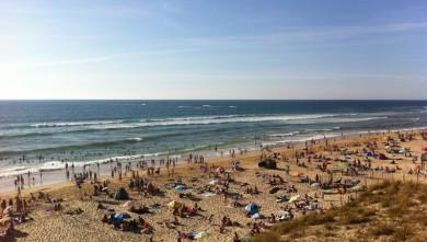 Surf report FR, Mimizan - Plage Garluche (40) du 2011-08-11 18:50:00