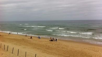 Surf report FR, Mimizan - Plage Garluche (40) du 2011-08-18 10:19:00