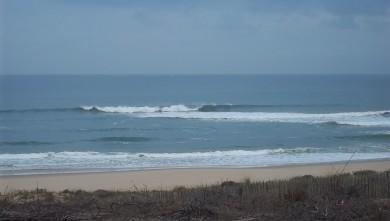 Surf report FR, Lacanau Océan - La Nord (33) du 2011-10-06 09:40:00