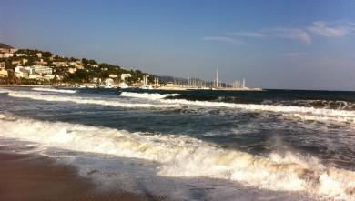 Surf report FR, Gigaro (83) du 2011-10-15 16:45:00