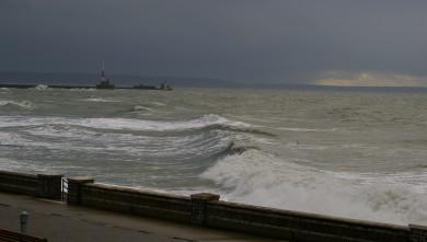 wave report FR, Le Havre - Les Cabanes (76) du 2011-12-13 11:30:00