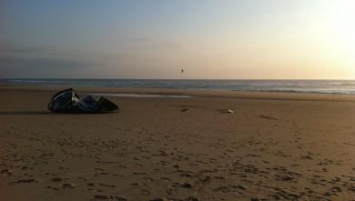 Wind report FR, Biscarrosse Plage (40) du 2011-06-14 19:00:00