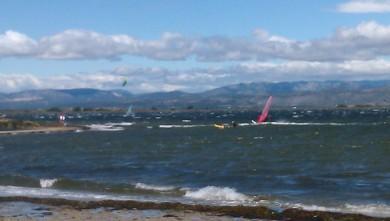 Wind report FR, Le Barcarès - Ile des Pêcheurs (66) du 2011-07-13 13:00:00