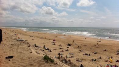 Wind report FR, Hourtin Océan - Plage Sud (33) du 2011-07-24 15:00:00