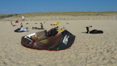 Wind report FR, Mimizan - Plage Garluche (40) du 2011-07-29 19:00:00