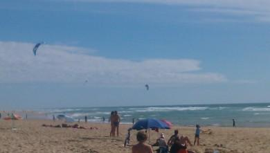 Wind report FR, Lacanau Océan - La Sud (33) du 2011-08-07 17:00:00