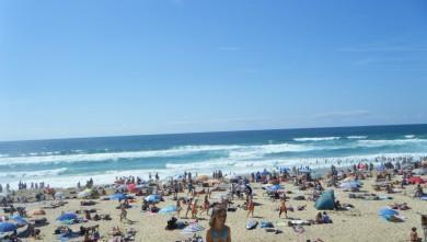 Surf report FR, Vieux Boucau (40) du 2011-08-09 16:00:00