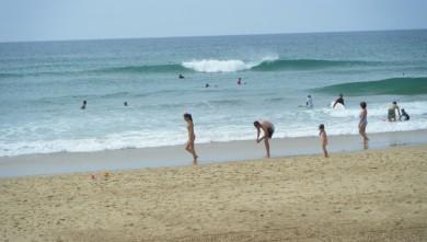 Surf report FR, Vieux Boucau (40) du 2011-08-18 14:00:00