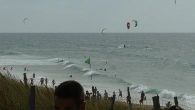 Wind report FR, Biscarrosse Plage (40) du 2011-08-28 16:00:00