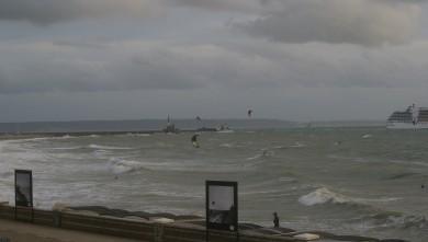 Surf report FR, Le Havre - Les Cabanes (76)