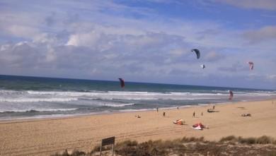 Wind report FR, Lacanau Océan - La Nord (33) du 2011-10-06 15:00:00