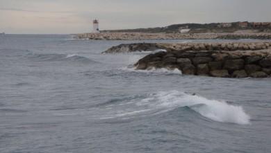 Surf report FR, Sausset les Pins - Plage du Port (13) du 2011-11-06 14:00:00