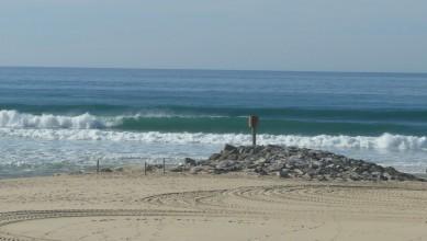 Surf report FR, Mimizan - Plage Garluche (40) du 2011-11-09 14:00:00