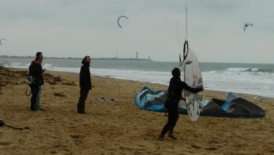 Wind report FR, Biscarrosse Plage (40) du 2011-11-06 12:00:00