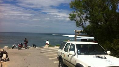 Surf report FR, Guethary Parlementia (64) du 2011-05-01 12:00:00