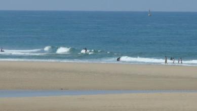Surf report FR, Mimizan - Plage Garluche (40) du 2011-05-04 12:00:00