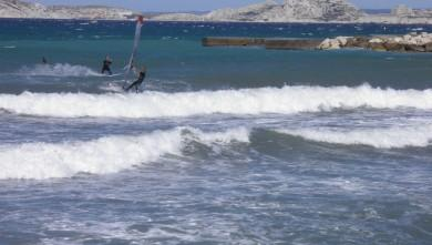Surf report FR, Le Prado (13) du 2011-06-19 11:00:00