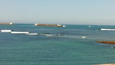 wave report FR, Sainte Barbe (64) du 2011-06-20 12:00:00