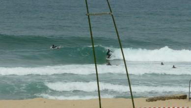 Surf report FR, Mimizan - Plage Garluche (40) du 2011-07-10 12:10:00