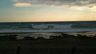 surf report FR, Plage La Marina (06)