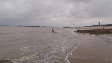 wave report FR, La Chambrette (33) du 2012-02-14 14:00:00