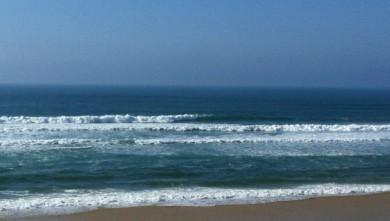 Surf report FR, Mimizan - Plage Garluche (40) du 2012-02-26 15:35:00