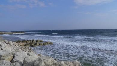 wave report FR, Sausset les Pins - Plage du Port (13) du 2012-03-17 16:00:00
