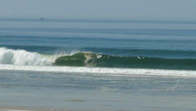 Surf report FR, Mimizan - Plage Garluche (40) du 2012-03-27 13:45:00