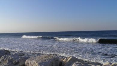 Surf report FR, Sausset les Pins - Plage du Port (13) du 2012-04-14 08:30:00