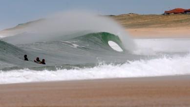 Surf report FR, Hossegor - La Gravière (40) du 2012-04-27 10:00:00