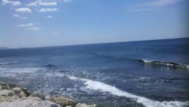 wave report FR, Sausset les Pins - Plage du Port (13) du 2012-06-04 12:20:00
