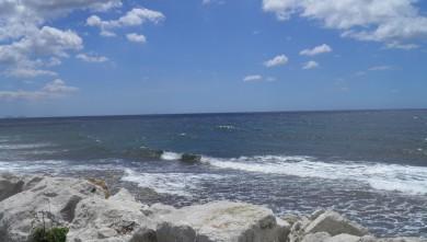 wave report FR, Sausset les Pins - Plage du Port (13) du 2012-06-12 13:00:00