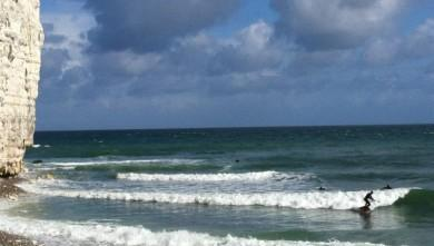 Surf report FR, Yport (76) du 2012-07-01 10:00:00