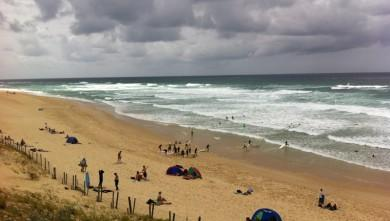 Surf report FR, Mimizan - Plage Garluche (40) du 2012-07-14 14:28:00