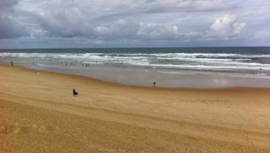 Surf report FR, Mimizan - Plage Garluche (40) du 2012-07-15 10:17:00