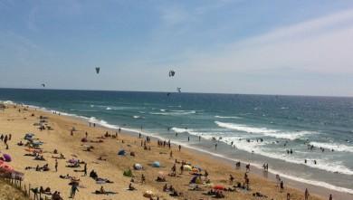 Surf report FR, Mimizan - Plage Garluche (40) du 2012-07-21 16:40:00