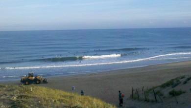 wave report FR, Vieux Boucau (40) du 2012-08-07 07:55:00