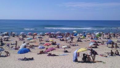 wave report FR, Vieux Boucau (40) du 2012-08-07 16:35:00