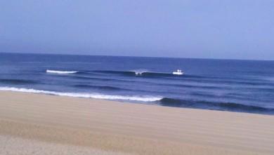 wave report FR, Vieux Boucau (40) du 2012-08-13 09:35:00