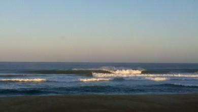 wave report FR, Vieux Boucau (40) du 2012-08-17 07:45:00