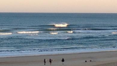 wave report FR, Vieux Boucau (40) du 2012-08-27 07:00:00