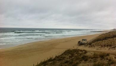 Surf report FR, Mimizan - Plage Garluche (40) du 2012-10-07 10:00:00