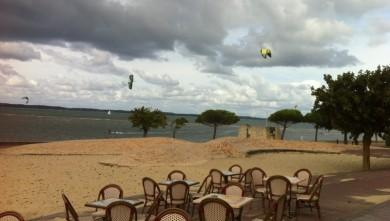 Surf report FR, Arcachon - Plage d'Eyrac (33) du 2012-10-13 13:10:00