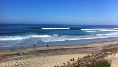 Surf report FR, Biscarrosse Plage (40) du 2012-10-23 12:00:00