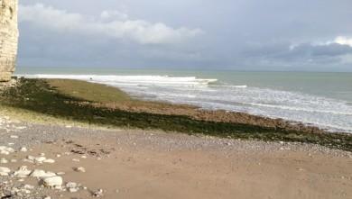Surf report FR, Yport (76) du 2012-11-02 10:25:00