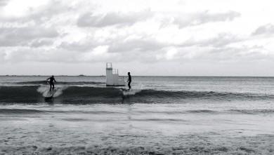 Surf report FR, Les Godelins (22) du 2012-11-17 15:00:00